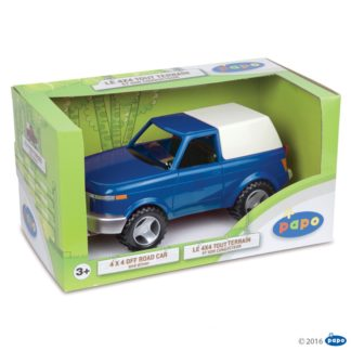 Papo 4x4 Offroad Car, Blue - Farmyard Friends, Papo 51433
