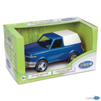 Papo 4x4 Offroad Car, Blue - Farmyard Friends, Papo 51433