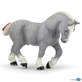 Papo Grey Percheron - Farmyard Friends - Papo 51551