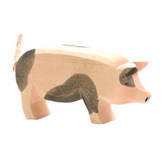 Spotted Pig, head high - Ostheimer 10951