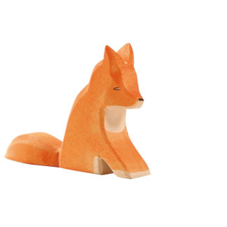 Fox, sitting - Ostheimer 15201