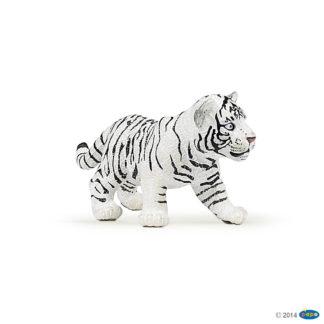 Papo White Tiger Cub Wild Animal Kingdom figure - Papo 50048