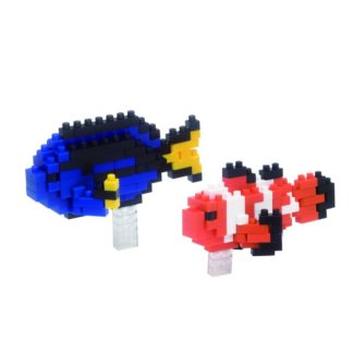 Clown Fish and Palette Surgeon Fish - nanoblock NBC-118