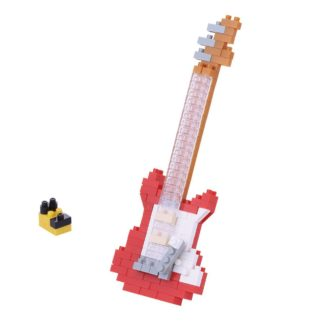 Electric Guitar Red - Nanoblock NBC-171