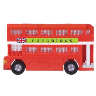 London Tour Bus (Closed Top) - nanoblock NBH-113