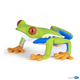 Papo Red Eyed Tree Frog Wild Animal Kingdom figure - Papo 50210