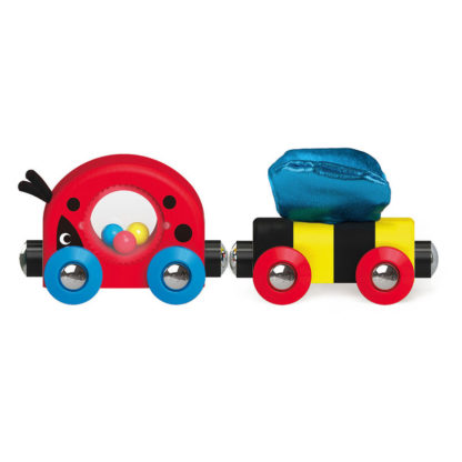 Hape Lucky Ladybug and Friends Train | LeVida Toys