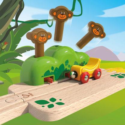 Monkey Pop-Up Track - Hape E3809