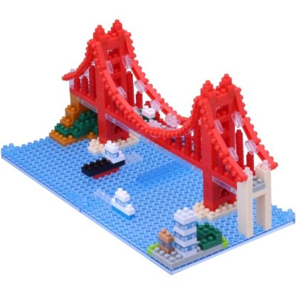 Golden Gate Bridge - nanoblock NBH-116
