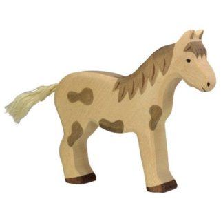 Foal, standing dappled - Holztiger 80043
