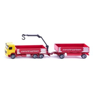1:87 Truck for Construction Materials & Trailer - Siku 1797