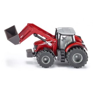 1:50 Massey Ferguson Tractor with Front Loader - Siku 1985