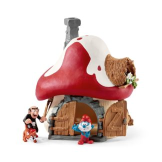 Smurf House with 2 Figures - Schleich 20803