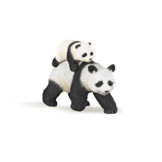 Papo Panda and Baby Panda Wild Animal Kingdom figure - Papo 50071