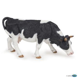 Papo Black and White Grazing Cow - Papo 51150