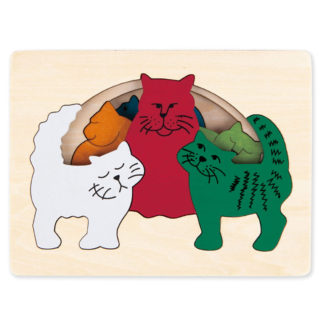 George Luck Cats Puzzle - E6511