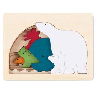 George Luck Polar Puzzle - E6517