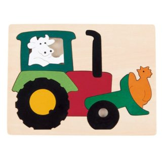 George Luck Tractor Puzzle - E6507