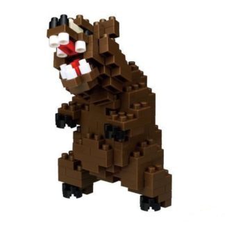 Grizzly Bear - Nanoblock NBC-222