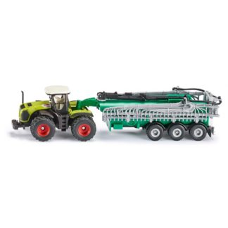 1:87 Claas Xerion Tractor with Slurry Tanker - Siku 1827