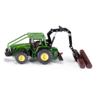 1:50 John Deere 8430 Forestry Tractor with 2 Logs - Siku 1974