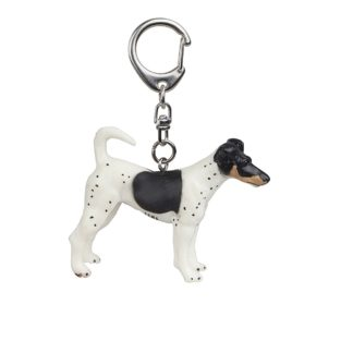 Papo Fox Terrier Key Ring - Dog & Cat Companions 2005