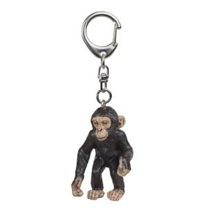Papo Baby Chimpanzee Cub Key Ring Wild Animal Kingdom figure - Papo 2214
