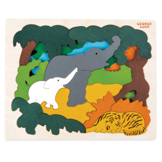 George Luck Asian Animals Puzzle - E6521