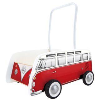 Volkswagen Camper Van T1 Walker in Red by Hape