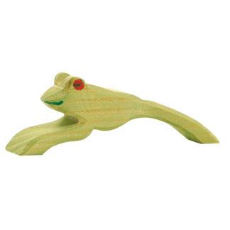 Ostheimer Ostheimer Frog jumping wooden toy figure - Ostheimer 1637