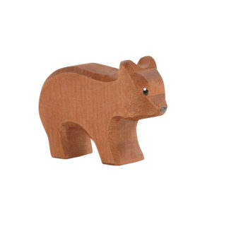Ostheimer Bear small running wooden toy figure - Ostheimer 22003