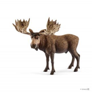 Schleich Moose Bull Wild Life figure - Schleich 14781 | LeVida Toys