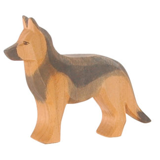 Ostheimer German Shepherd wooden toy dog - 10506