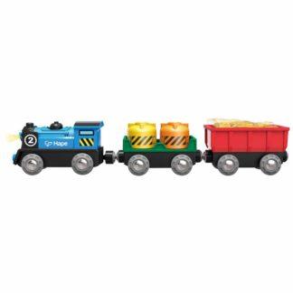 Hape Battery Powered Rolling-Stock Train - Hape E3720
