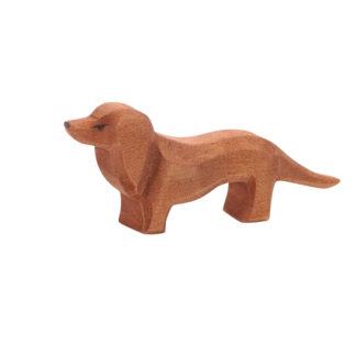 Ostheimer Dachshund wooden toy dog figure - 10611