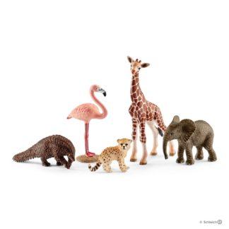 Schleich Assorted Wild Life Animals Playset - Schleich Model 42388 | LeVida Toys