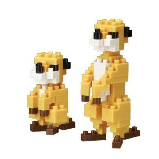 Nanblock Mini Collection Meerkat (nanoblock NBC-203) | LeVida Toys