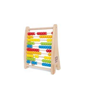 Hape Wooden Rainbow Bead Abacus | LeVida Toys