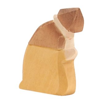 Ostheimer Shepherd kneeling wooden nativity figure - 40501 | LeVida Toys