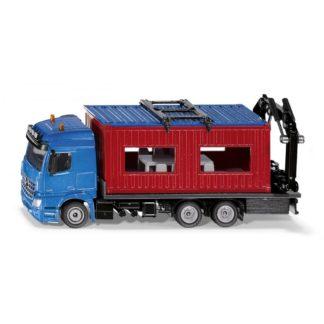 Siku Mercedes-Benz Arocs Truck with Construction Container 1:50 |LeVida