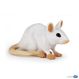 Papo White Mouse - Wild Animal Kingdom figure - 50222 | LeVida Toys