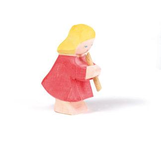 Ostheimer Girl Playing Flute figure - Ostheimer 10023 | LeVida Toys