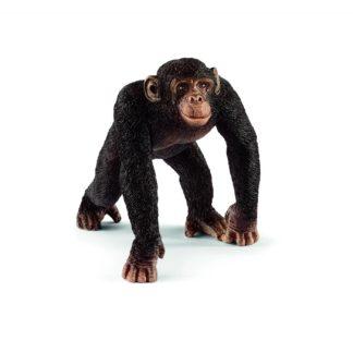 Schleich Chimpanzee Male Wild Life figure - Schleich 14817 | LeVida Toys