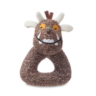 The Gruffalo Baby Ring Rattle 5.5 Inch by Aurora | LeVida Toys