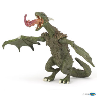 Papo Articulated Dragon - Fantasy World figure - 36006 | LeVida Toys