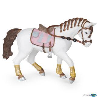 Papo Braided Mane Horse figure - Papo 51525 | LeVida Toys