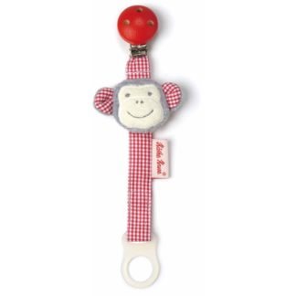 Kathe Kruse Monkey Carlo Pacifier Holder | LeVida Baby