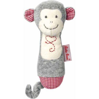 Kathe Kruse Monkey Carlo Grabbing Plush Toy | LeVida Baby