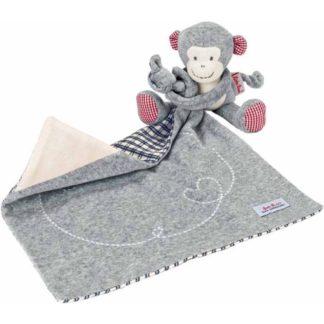 Kathe Kruse Monkey Carlo Towel Doll Comforter | LeVida Baby