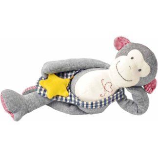 Kathe Kruse Monkey Carlo Dangle Soft Toy | LeVida Baby
